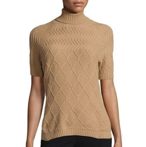 LAFAYETTE 148 New York Aran-Stitch Sweater